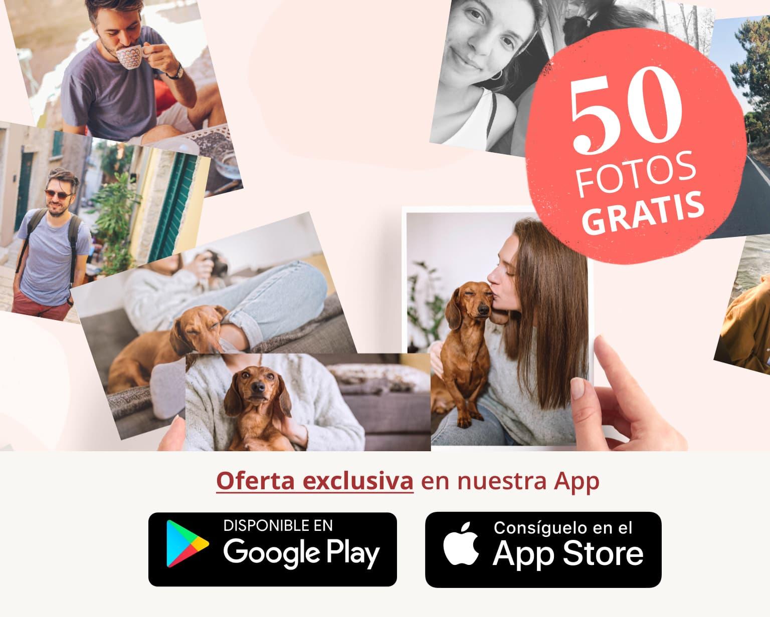 Imprime 50 FOTOS GRATIS cada mes