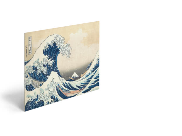 The Great Wave by Katsushika Hokusai - Poster