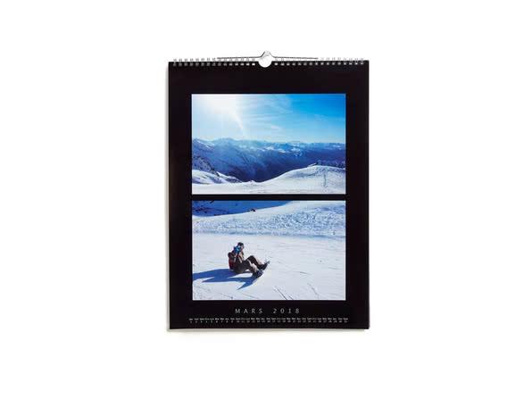Idées cadeaux de Noël pour lui - Calendrier Photo Luxe - Ce que j'aime chez toi