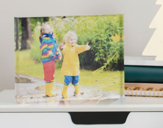 Photo Acrylic Block