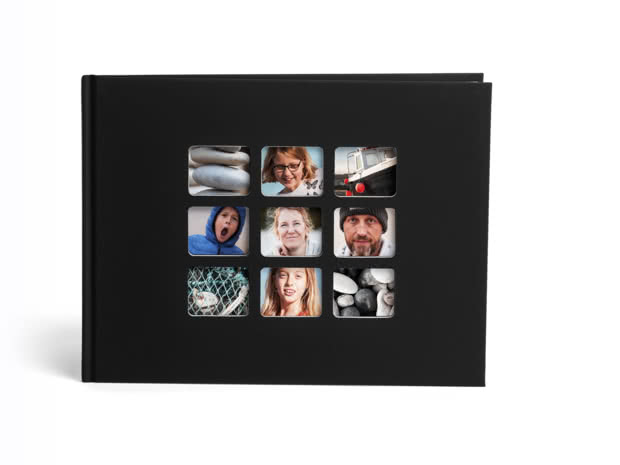 A4 Standard Hardcover Classic Collage Photo Book