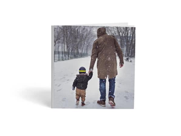 Album photo souple et carré