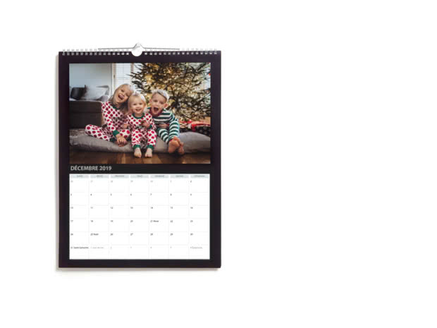Achat Calendrier 2019.Calendriers Muraux Simples A4