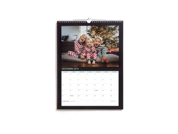 Cadeaux de Noël pour votre chérie - Calendriers Muraux Simples A4 & A3 - Ce que j'aime chez toi