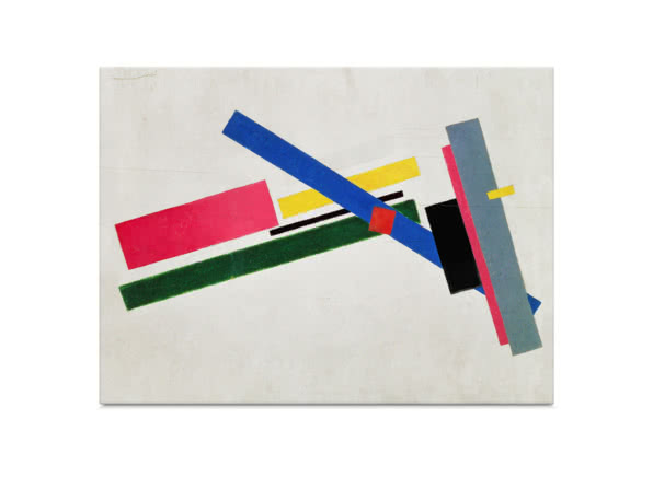 Suprematist Construction by Kazimir Malevich