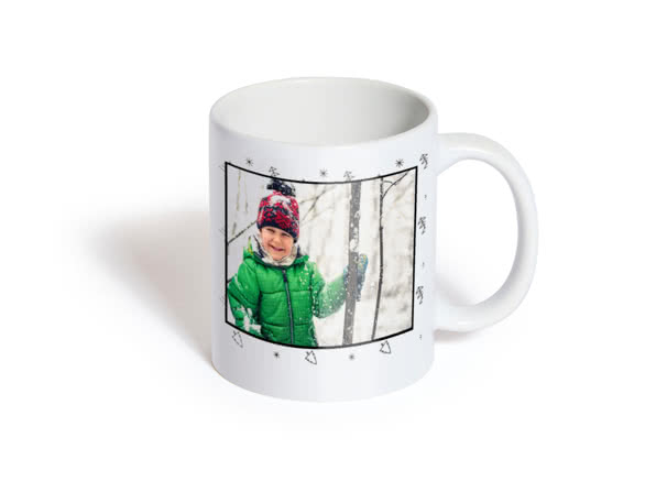 Christmas gift ideas for friends - mugs  - head swap