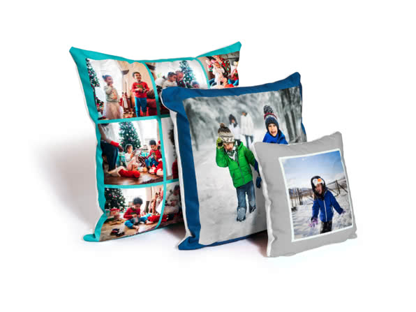 Christmas Gift Ideas for Girlfriend - personalised cushion - Little Boxes