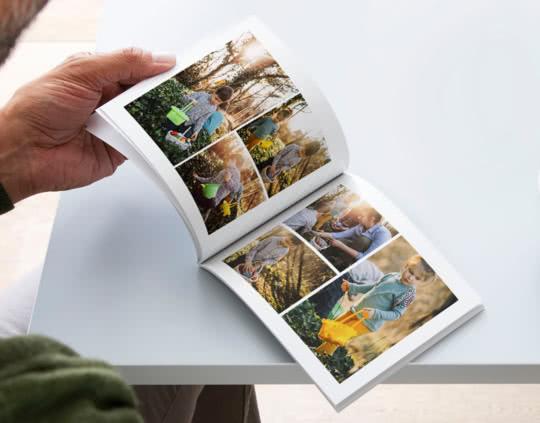 Fotolibro con copertina flessibile A5
