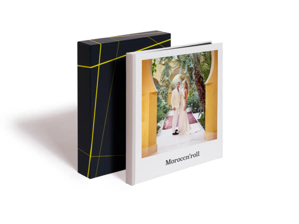 Premium Hardcover Square Photo Book