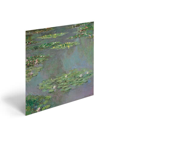 Water Lilies by Claude Monet - Poster