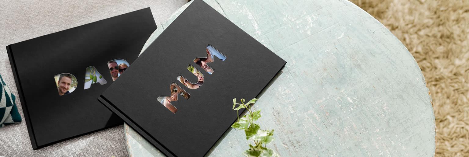 Special Edition Mum & Dad Photo Books