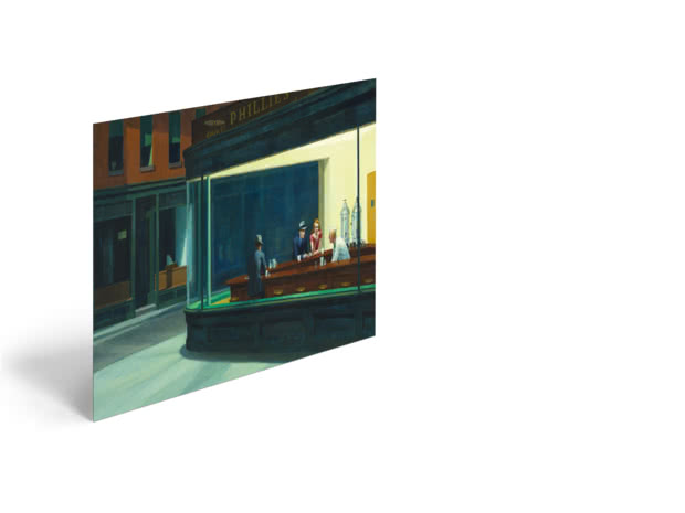 Nighthawks by Edward Hopper - Poster