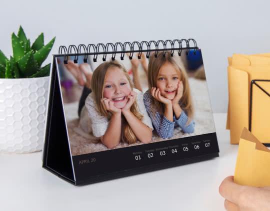 Calendario deluxe da tavolo