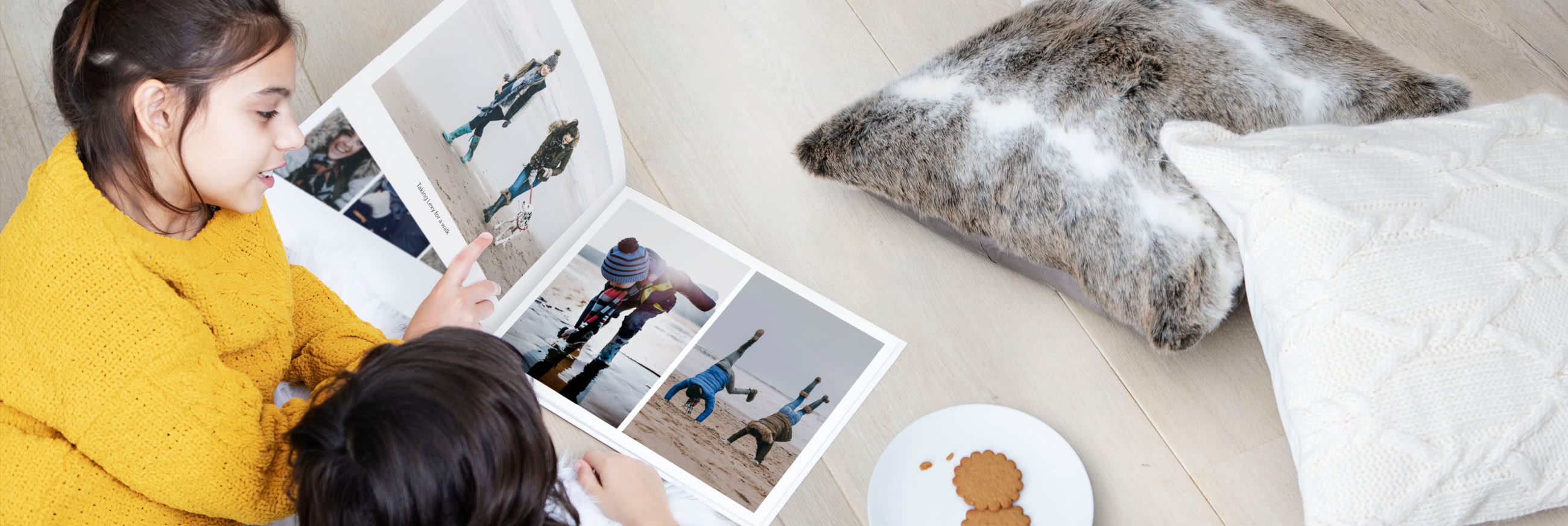 Premium-Fotobuch: Layflat A4 und A3
