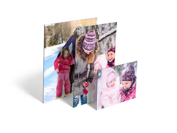 Christmas Gift Ideas for Sister - aluminium photo panel - Heart and Sole