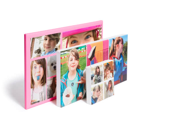 collage canvas combine your best photos on a single canvas photobox