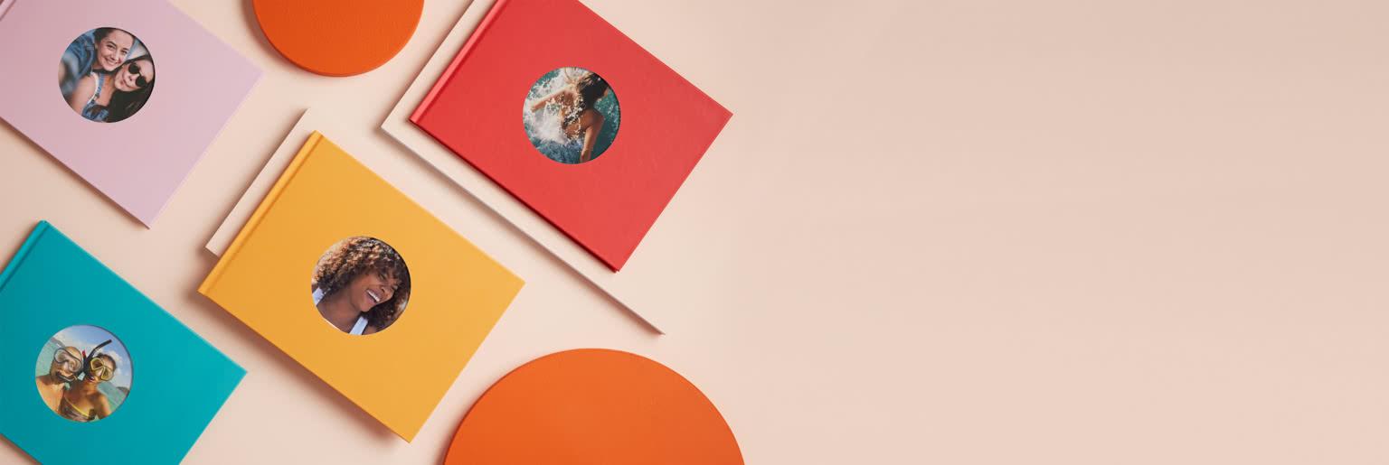 Circle Cutout Book