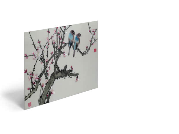 Chinese Birds by Chinese School - Poster