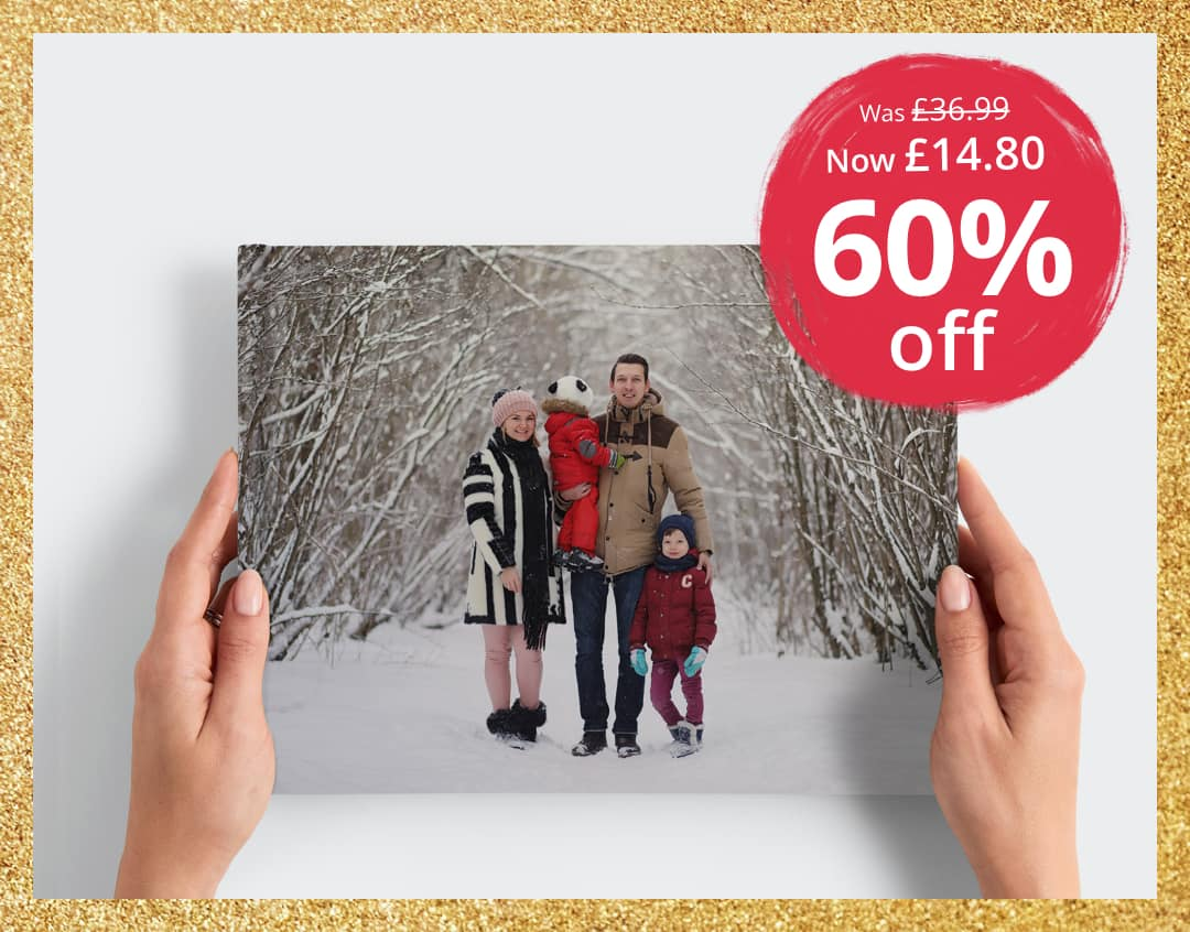 60% off A4 Personalised Book