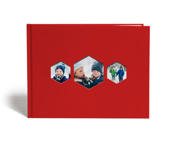 A4 Hexagon Photo Book