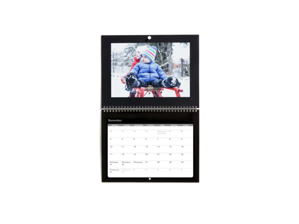Christmas gift ideas for girlfriend - double page calendar - the motley bunch