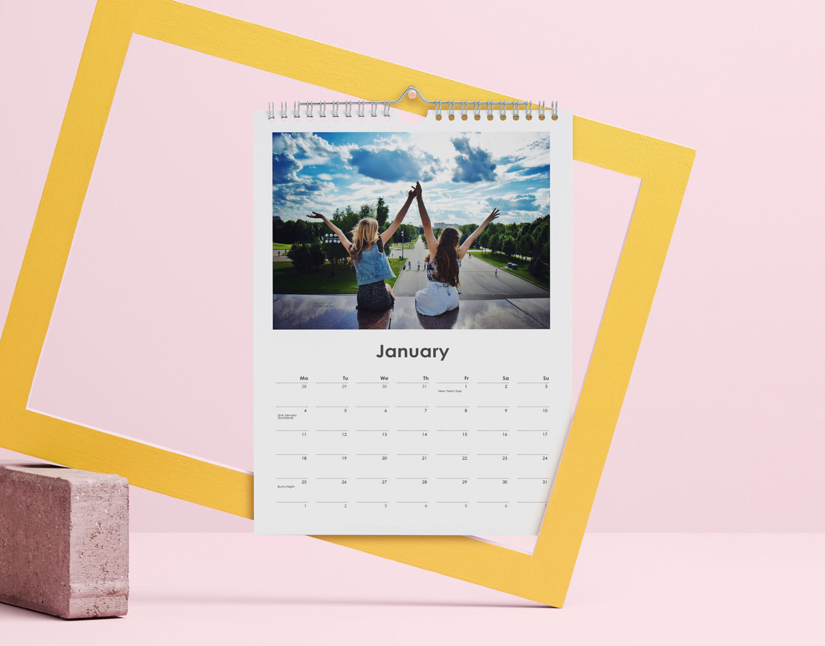 A4 & A3 Personalised Wall Calendars