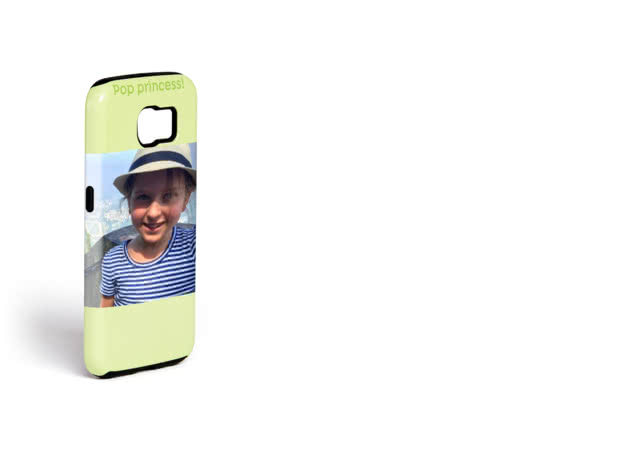Personalised Samsung Galaxy S6 Case with an image of a girl