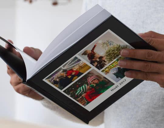 Livre Photo Carré