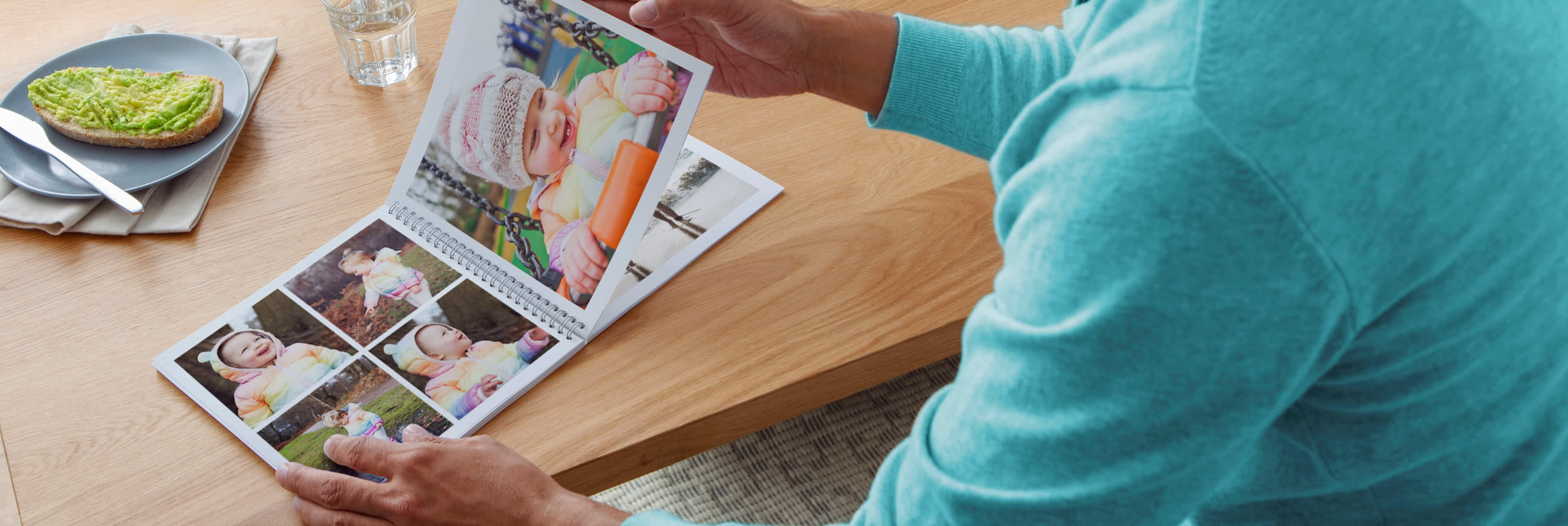 Softcover Square Spiral Photo Book
