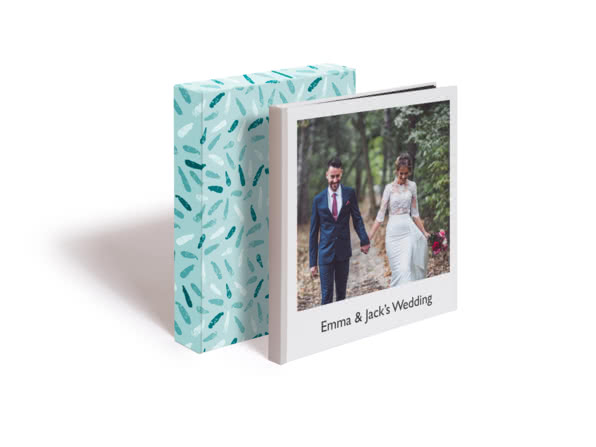 Premium Hardcover Square Photo Book