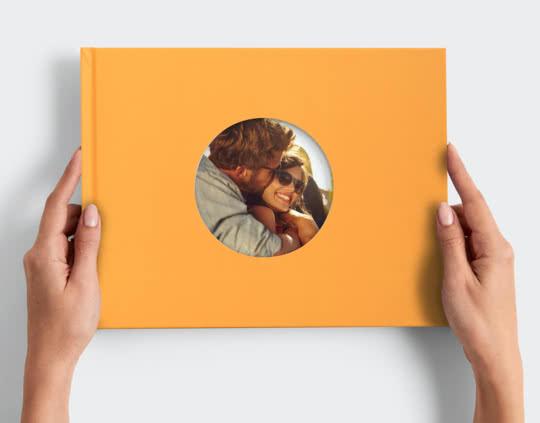 Libro de Fotos Digital con Ventana