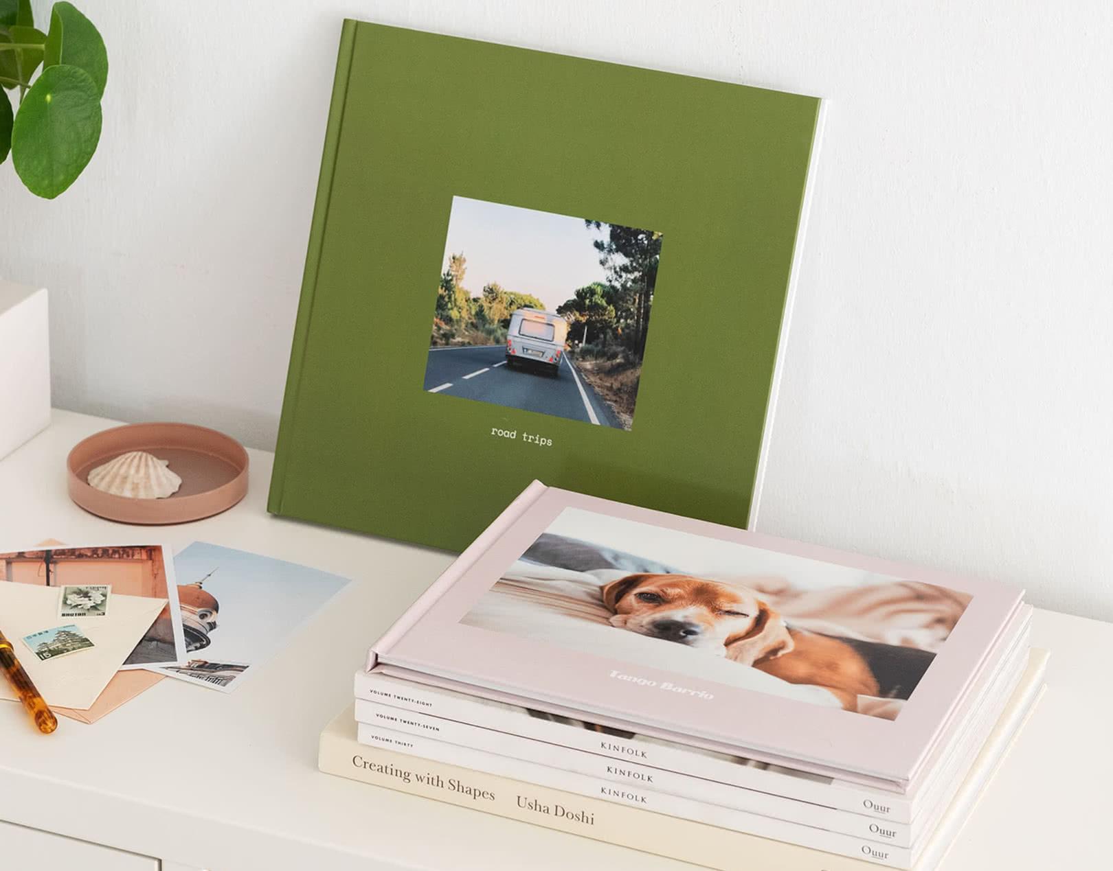 Libros de fotos personalizados