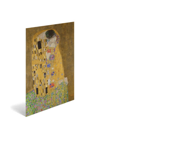 The Kiss by Gustav Klimt - Poster