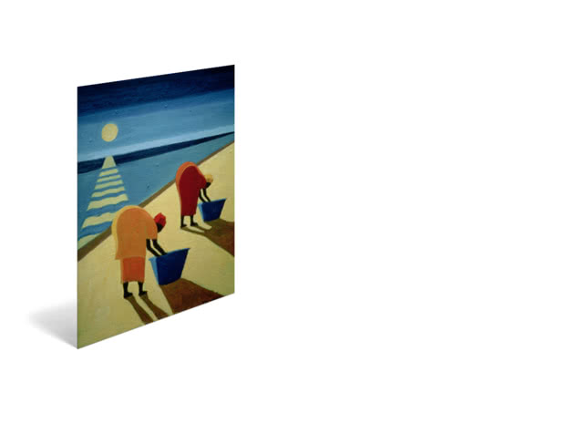 Beach Bums by Tilly Willis - Poster