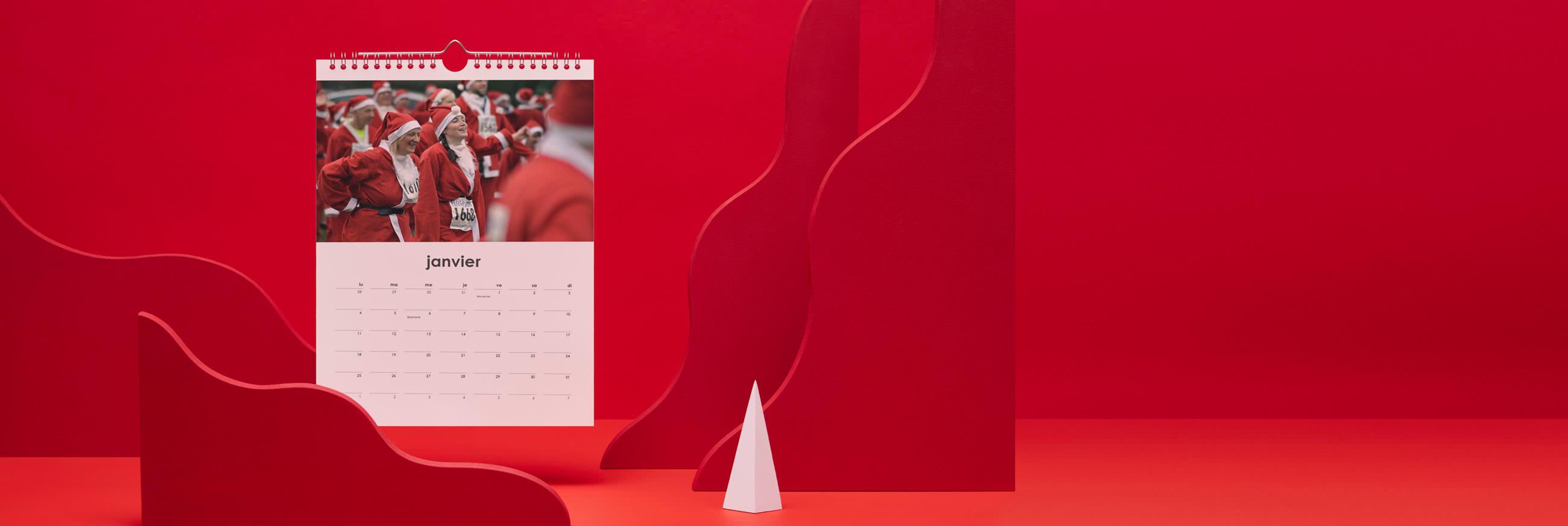 Calendriers Photo Muraux A4 & A3 Simples 2021 | Photobox