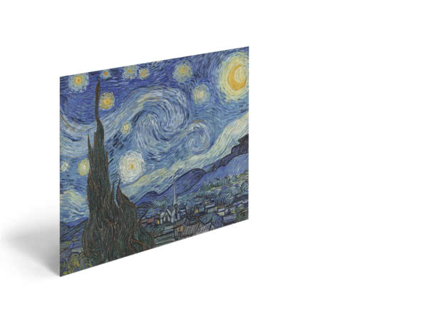 The Starry Night by Vincent van Gogh - Poster