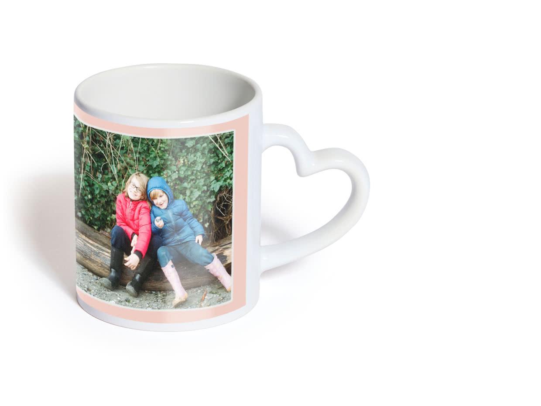 Mug Cœur Tasse Photo Mug Cœur Personnalisé Photobox