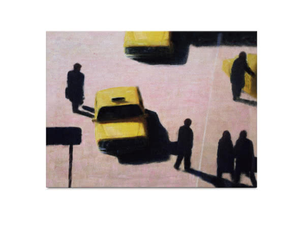 New York Taxis by Lincoln Seligman