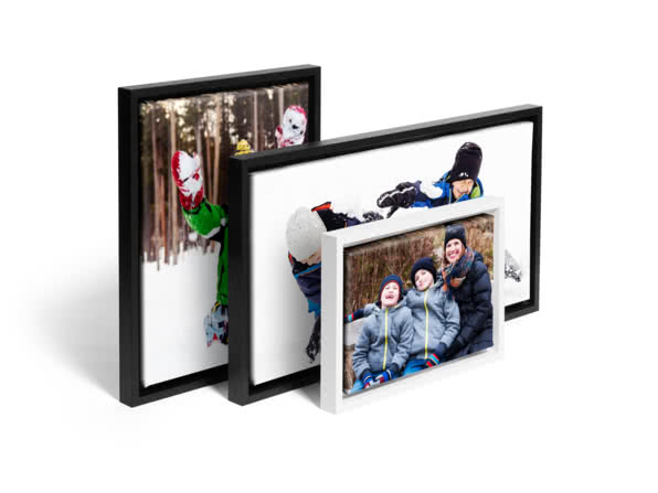 Christmas gift ideas for friends - framed canvas prints - head to head