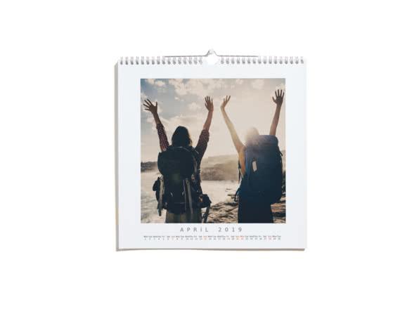 Calendario cuadrado