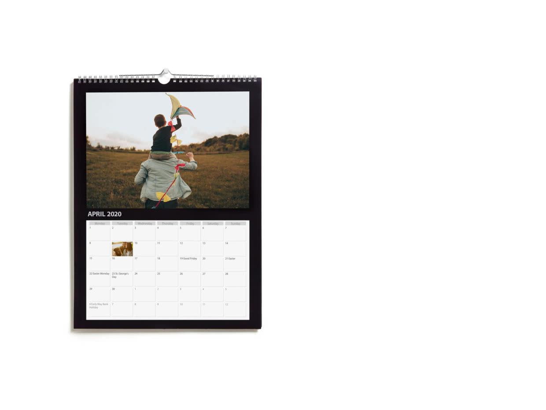 A3 And A4 Wall Calendar 2021 | Calendars & Diaries | Photobox