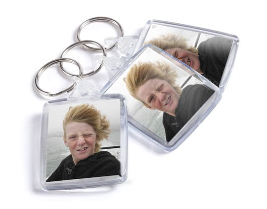 Personalised Custom Photo Keyrings