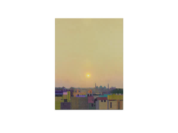 Sunset over Jama Masjid by Andrew Gifford