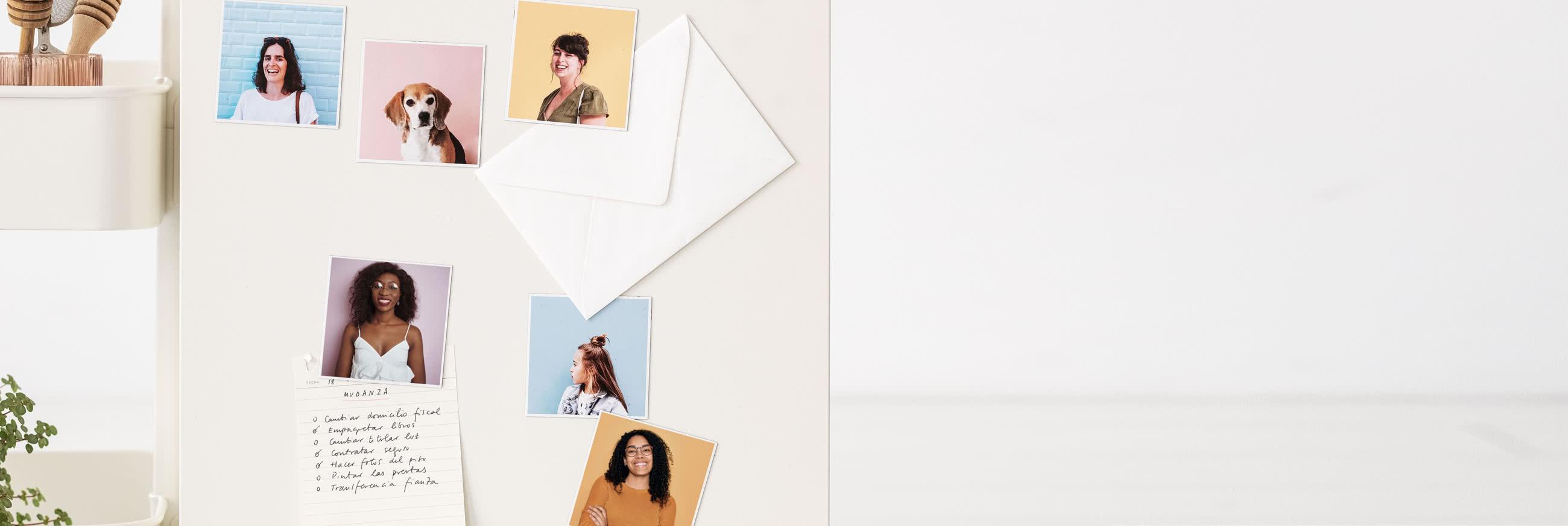 Imanes con fotos personalizados