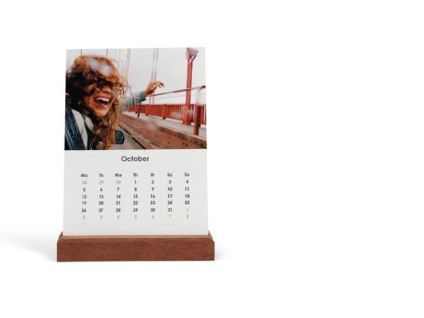 Portrait Easel Calendar