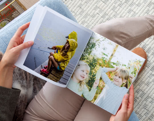 Softcover Square Photo Book