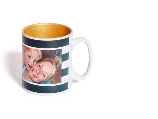 Mug personnalisé avec intérieur couleur