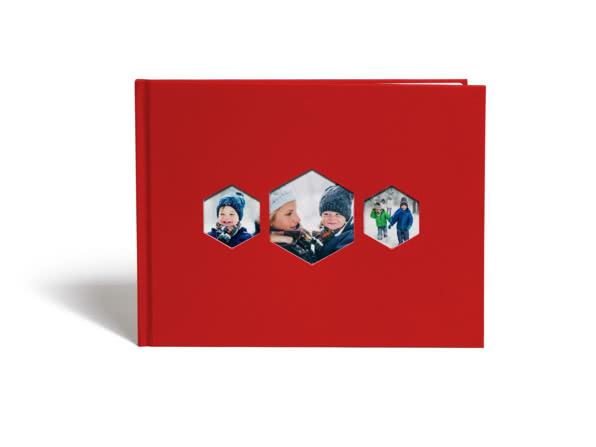 A4 Hexagon Book