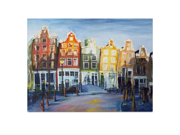 Houses of Amsterdam by Antonia Myatt