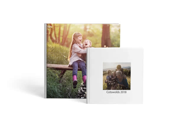 Premium Hardcover Lay Flat Photo Book